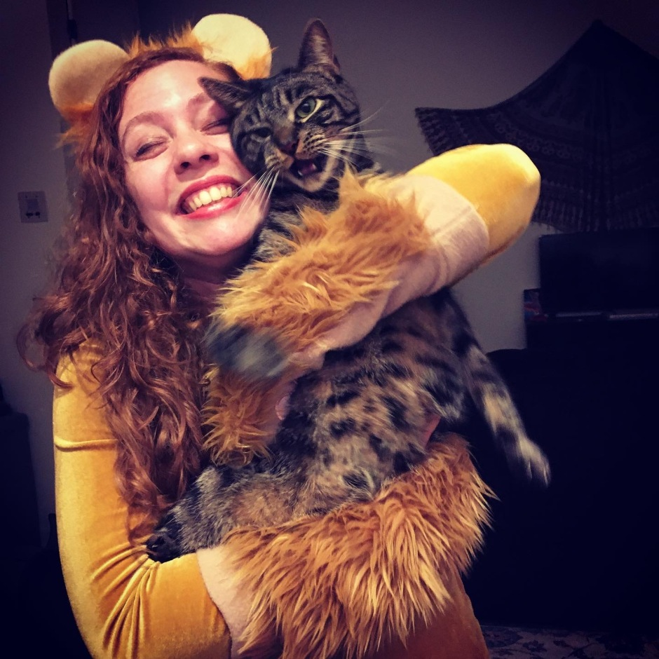 Can taking an improv class cure my S.A.D.? Telling a story about my jumpy cat, on stage, without warning quieted my anxiety. I'm just as surprised as you are.